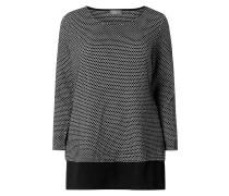 PLUS SIZE - Pullover mit Kontrastsaum