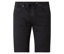 Regular Fit Jeansshorts mit Stretch-Anteil Modell 'Jagger Short'