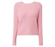 Pullover mit Zweiwege-Reißverschluss