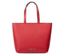 Shopper mit Reißverschlusstasche
