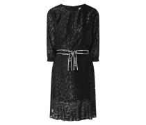 Kleid mit Ausbrenner-Effekt