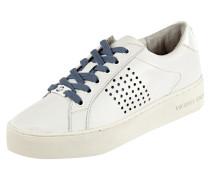 Sneaker aus Leder mit Plateausohle