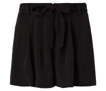 Shorts mit gebundenem Gürtel