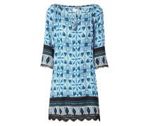 Kleid mit ornamentalem Muster