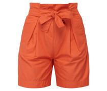 Shorts mit gerüschtem Bund