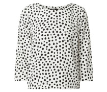 Blusenshirt mit Punktemuster Modell 'Falesha'