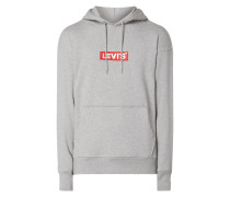 Relaxed Fit Hoodie mit Logo-Stickerei