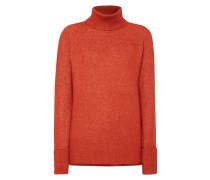 Rollkragen-Pullover mit Raglanärmeln