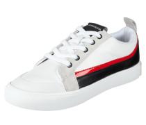 Sneaker 'Dodie' aus Glatt- und Veloursleder