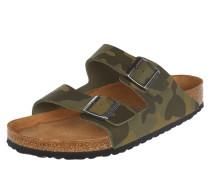 Sandalen 'Arizona' mit Camouflage-Muster