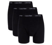 Classic Fit Retro Pants im 3er-Pack - langes Bein