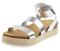 Sandalen in Metallic-Optik Modell 'Kimmie'
