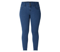 PLUS SIZE - High Waist Slim Fit Jeans