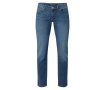 Straight Fit Jeans mit Münztasche Modell 'Alby'