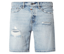 Slim Fit Jeansshorts aus Baumwolle Modell 'Ley'