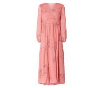 Kleid aus Viskose mit floralem Muster Modell 'Madrina'