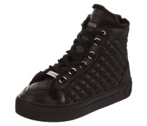 High Top Sneaker 'Merge' aus Leder
