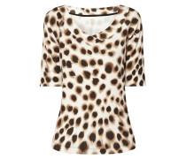 Shirt mit Gepardenmuster