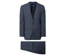 Regular Fit Anzug mit Stretch-Anteil
