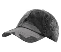 Basecap mit Camouflage-Muster