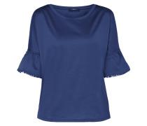 Shirt mit Pompon-Besatz an den Ärmeln