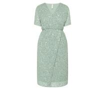 Kleid mit Pailletten-Applikationen