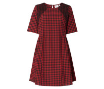 PLUS SIZE - Kleid mit Spitzenbesatz