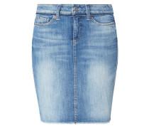 5-Pocket-Jeansrock im Used Look