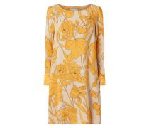 Kleid aus Viskose mit floralem Muster Modell 'Cidano'