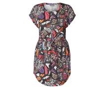 PLUS SIZE - Kleid mit Schmetterlingsmuster