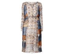 Kleid aus Viskose mit Ethno-Muster