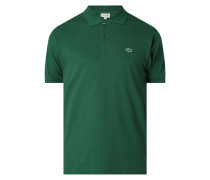 Classic Fit Poloshirt mit Logo-Badge