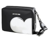 Crossbody Bag mit Herz-Aufnäher