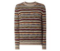 Pullover im mehrfarbigen Design