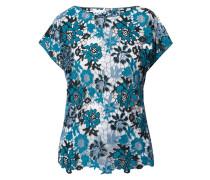 Blusenshirt aus floraler Häkelspitze