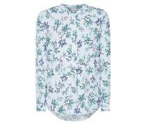 Blusenshirt mit Blättermuster