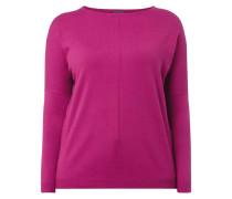PLUS SIZE - Pullover mit überschnittenen Schultern