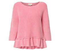 Pullover mit ausgestelltem Saum