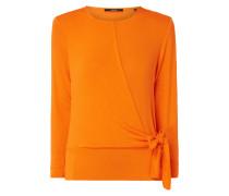 Pullover in Wickel-Optik