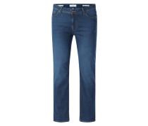 Straight Fit Jeans mit Stretch-Anteil Modell 'Cadiz'