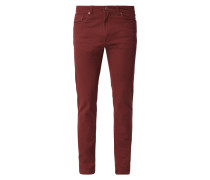 Straight Fit 5-Pocket-Hose mit Stretch-Anteil