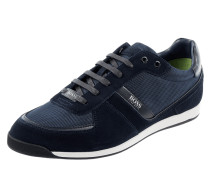 Sneaker aus Veloursleder und Textil Modell 'Glaze'