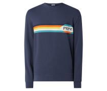 Regular Fit Sweatshirt aus Baumwolle Modell 'Gustaph'