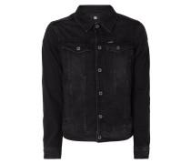Renewed Slim Fit Jeansjacke aus Coloured Denim