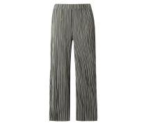 PLUS SIZE - Easy Pants mit Plisseefalten