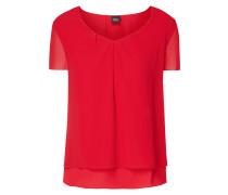 Blusenshirt im Double-Layer-Look