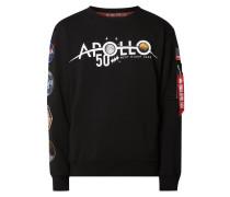 Sweatshirt mit NASA-Patches