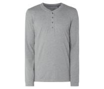 Serafino-Shirt aus Jersey