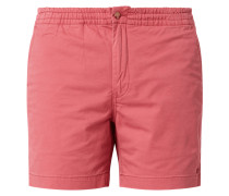 Classic Fit Chino-Shorts mit Stretch-Anteil