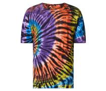 T-Shirt in Batik-Optik Modell 'Arne'